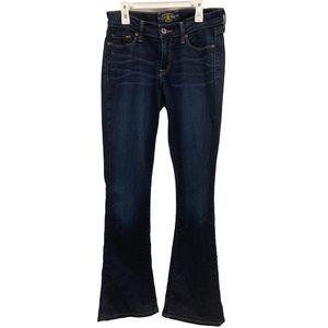 Lucky Brand Sofia Bootcut Dark Wash Jeans 4/27
